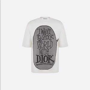 DIOR x S. STUSSY I want to shock the world in dior
